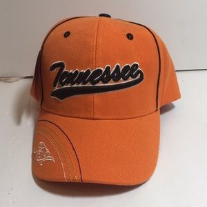Orange Black Trim Tennessee Cap One Size Fits All